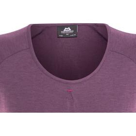 Mountain Equipment Equinox Bluzka z krótkim rękawem Kobiety fioletowy